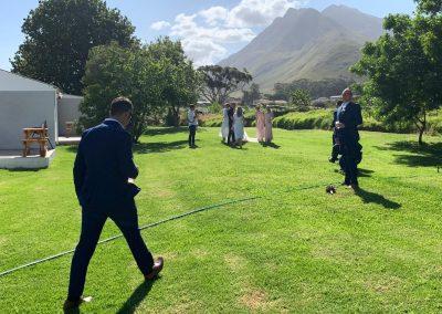 Maluti Mountains Wedding Backdrop
