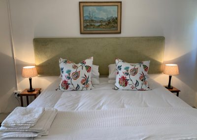 Spacious double bed in Cottage 4b Honeyrock Cottages