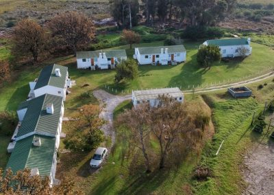 Honeyrock Cottages Aerial View1