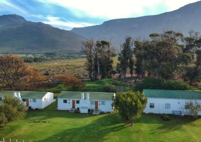 Honeyrock Cottages Aerial View2