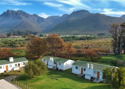 Honeyrock Cottages Aerial View